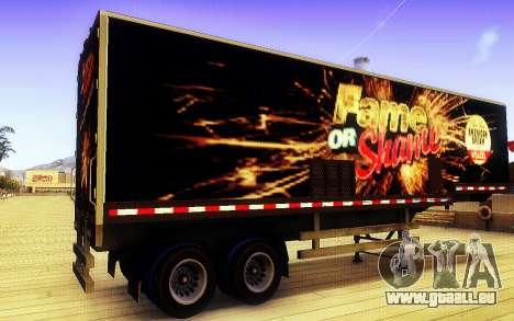 GTA V Ruhm oder Schande Trailer für GTA San Andreas linke Ansicht