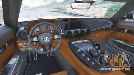 GTA 5 Mercedes-Benz AMG GT 2016 v2.0 rechte Seitenansicht