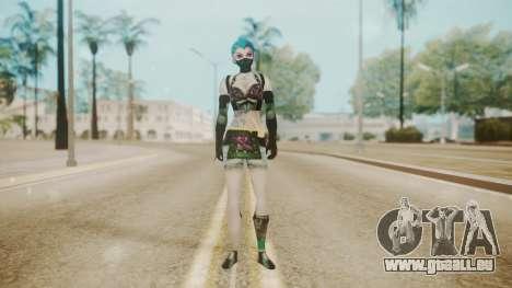 Jinxed Akali pour GTA San Andreas deuxième écran