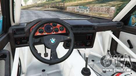 GTA 5 BMW M3 (E30) 1991 [Jeschke] v1.2 rechte Seitenansicht
