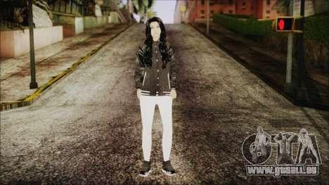 Home Girl White Pants für GTA San Andreas zweiten Screenshot