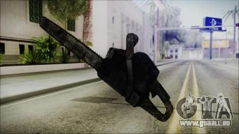 Helloween Chainsaw für GTA San Andreas dritten Screenshot