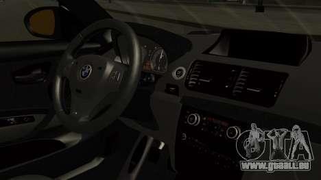 BMW 1M E82 without Sunroof pour GTA San Andreas vue de droite