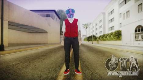 DLC Halloween GTA 5 Skin 2 pour GTA San Andreas deuxième écran