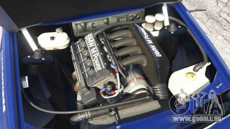 BMW M3 (E30) 1991 [Kings] v1.2 pour GTA 5