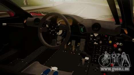 McLaren F1 GTR 1998 Team Lark pour GTA San Andreas vue de droite