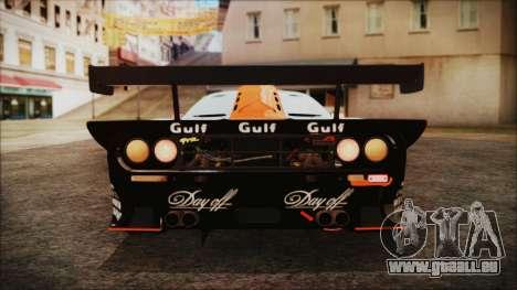 McLaren F1 GTR 1998 pour GTA San Andreas vue de côté