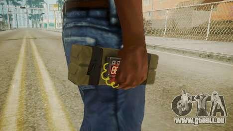GTA 5 Satchel pour GTA San Andreas troisième écran
