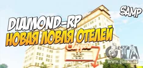 Angeln-hotels für die Diamond RolePlay für GTA San Andreas
