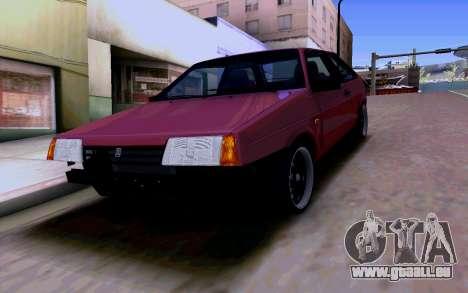 VAZ 2108 V2 für GTA San Andreas Unteransicht