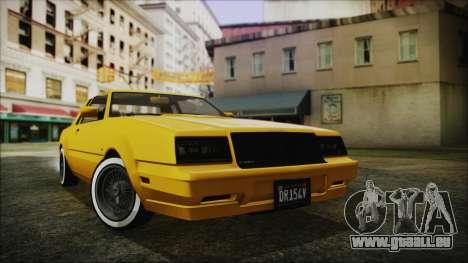 GTA 5 Willard Faction Custom Bobble Version IVF pour GTA San Andreas