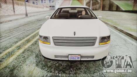 GTA 5 Albany Washington IVF pour GTA San Andreas vue de droite
