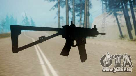 KAC PDW pour GTA San Andreas troisième écran