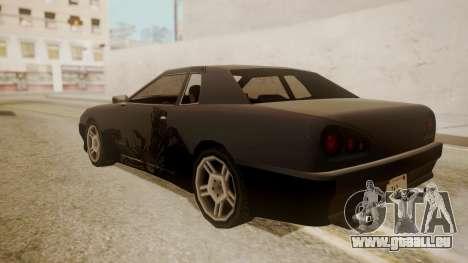 Elegy FnF Skins pour GTA San Andreas vue de côté