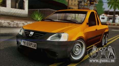 Dacia Logan Pickup 6x6 für GTA San Andreas
