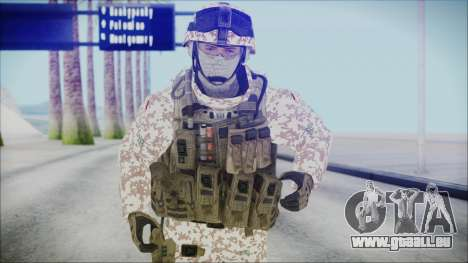 Bundeswehr Desert v1 pour GTA San Andreas