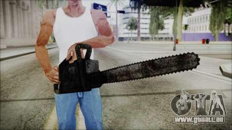 Helloween Chainsaw für GTA San Andreas