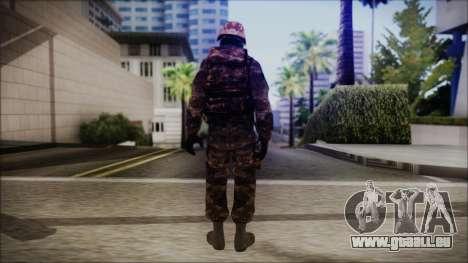 Chinese Army Desert Camo 1 für GTA San Andreas dritten Screenshot