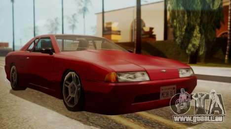 Elegy FnF Skins pour GTA San Andreas sur la vue arrière gauche
