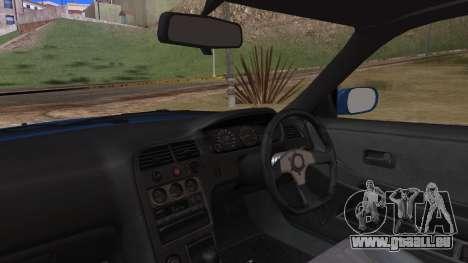 Nissan Skyline R33 Kantai Collection Kongou PJ pour GTA San Andreas vue arrière