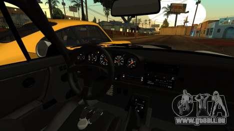 RUF CTR Yellowbird (911) 1987 HQLM pour GTA San Andreas vue de droite