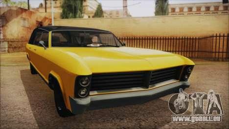 GTA 5 Albany Lurcher IVF pour GTA San Andreas