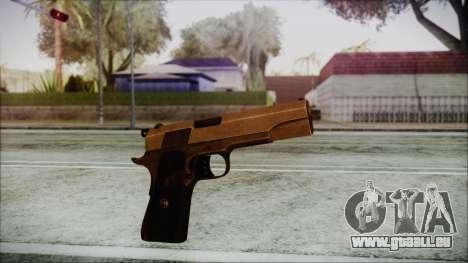Original Colt 45 HD pour GTA San Andreas deuxième écran