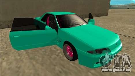 Nissan Skyline R32 für GTA San Andreas Motor