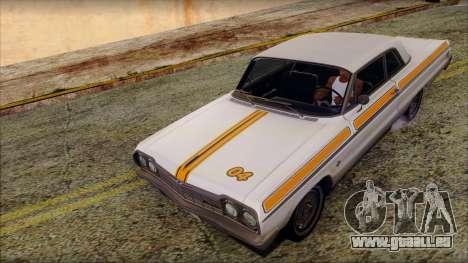 Chevrolet Impala SS 1964 Final pour GTA San Andreas moteur
