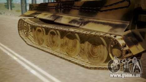 Panzerkampfwagen VI Tiger Ausf. H1 für GTA San Andreas zurück linke Ansicht