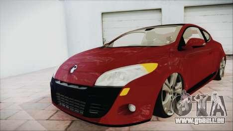 Renault Megane 3 für GTA San Andreas