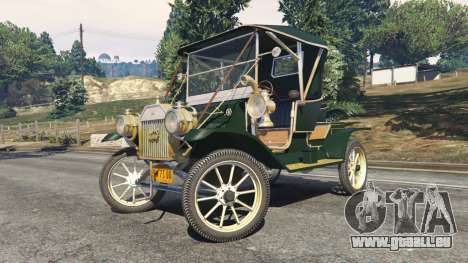 GTA 5 Ford Model T [one color] rechte Seitenansicht