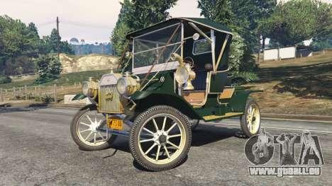 GTA 5 Ford Model T [one color] droite vue latérale