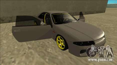 Nissan Skyline R33 Drift pour GTA San Andreas moteur