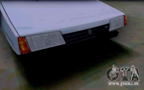 VAZ 2108 V2 pour GTA San Andreas vue de côté