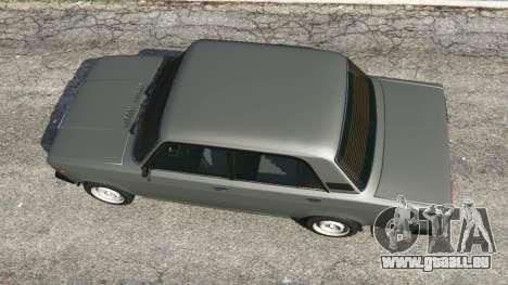 GTA 5 VAZ-2107 [Riva] Rückansicht