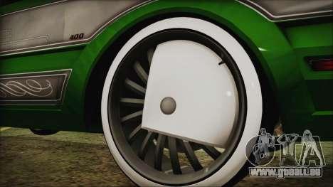 GTA 5 Faction LowRider DLC für GTA San Andreas zurück linke Ansicht