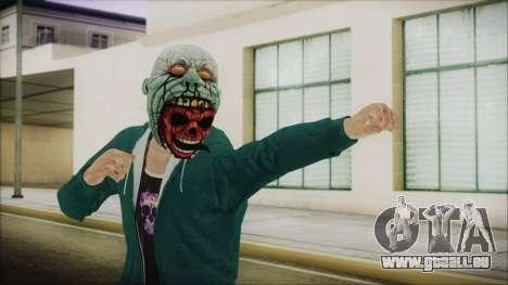 DLC Halloween GTA 5 ZombieCraneo für GTA San Andreas
