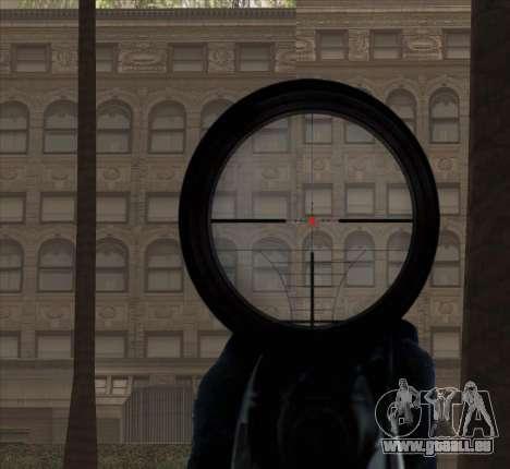 Sniper Scope v2 für GTA San Andreas achten Screenshot