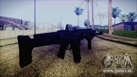 Bushmaster ACR pour GTA San Andreas deuxième écran