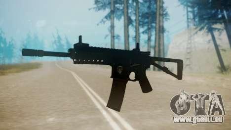 KAC PDW pour GTA San Andreas deuxième écran