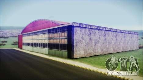 HD Desert Hangar Mipmapped pour GTA San Andreas deuxième écran