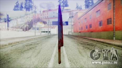 Helloween Butcher Knife für GTA San Andreas dritten Screenshot