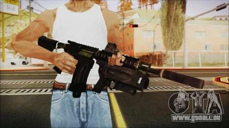 M4 SpecOps pour GTA San Andreas troisième écran