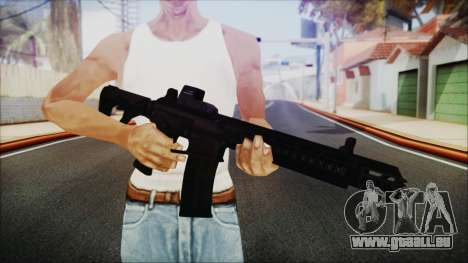 SOWSAR-17 Type G Assault Rifle pour GTA San Andreas