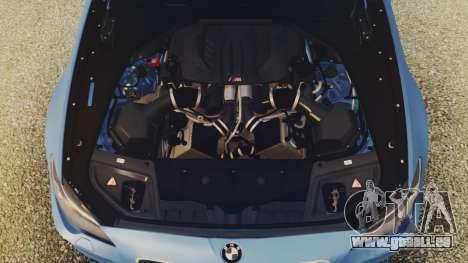 BMW M5 F10 Stock MTA Version für GTA San Andreas rechten Ansicht