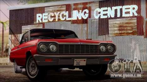 Chevrolet Impala SS 1964 Final pour GTA San Andreas
