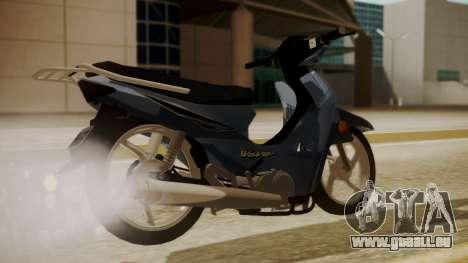 Honda Wave pour GTA San Andreas laissé vue