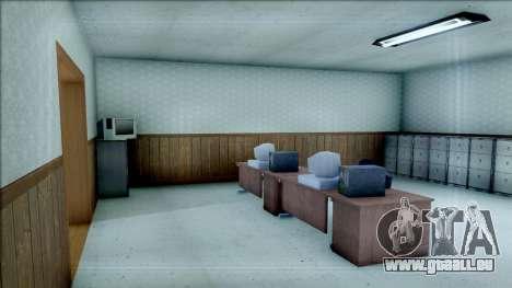 New Interior for SFPD für GTA San Andreas dritten Screenshot