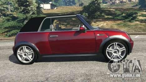 Mini Cooper S Convertible v0.2 pour GTA 5